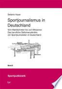 Sportjournalismus in Deutschland