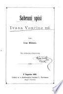 Sabrani spisi Ivana Vončine ml