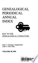 Genealogical Periodical Annual Index