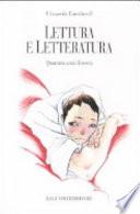 Lettura e letteratura