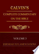 Volume 3 Jeremiah To Lamentations