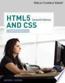 HTML5 and CSS  Comprehensive