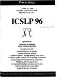ICSLP ... Proceedings