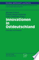 Innovationen in Ostdeutschland