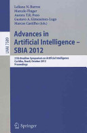 Advances In Artificial Intelligence Sbia 2012