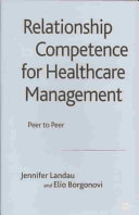 Relationship Competence for Healthcare Management