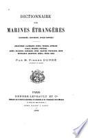 Dictionnaire des marines étrangères