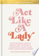 Book Act Like a Lady
