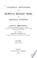 Alphabetical French English List of Technical Military Terms