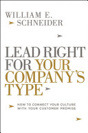 download ebook lead right for your company\'s type pdf epub