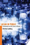 Lacan in Public