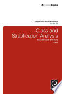 Class and Stratification Analysis