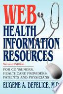 Web Health Information Resources