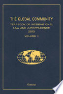 The Global Community Yearbook of International Law and Jurisprudence 2010