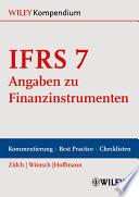 IFRS 7 - Angaben zu Finanzinstrumenten