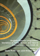English Corpus Linguistics  Variation in Time  Space and Genre