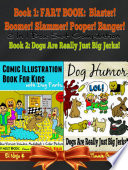 Comic Illustration Book For Kids With Dog Farts   Fart Book For Kids