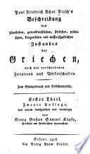 Paul Friedrich Achat Nitsch's Beschreibung des häuslichen gottesdienstlichen