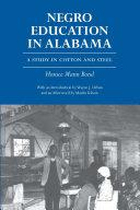 Negro Education in Alabama
