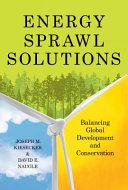 Energy Sprawl Solutions
