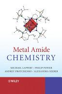 Book Metal Amide Chemistry