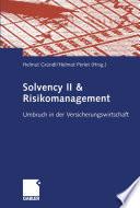 Solvency II & Risikomanagement