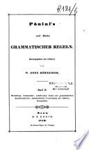 Acht Bücher Grammatischer Regeln