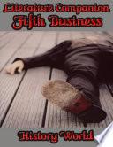 download ebook literature companion: fifth business pdf epub