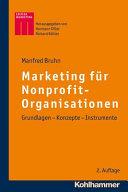 Marketing f  r Nonprofit Organisationen