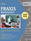 Praxis Mathematics Content Knowledge 5161 Study Guide 2018 2019