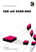 CAD mit ACAD-BAU