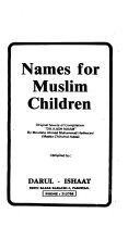 Names for Muslim Children