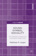 Sound, Symbol, Sociality Unger Offers A Thought Provoking Look At