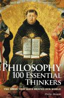 download ebook philosophy 100 essential thinkers pdf epub