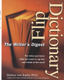 Writer s Digest Flip Dictionary
