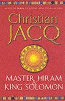 Master Hiram and King Solomon