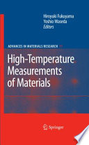 High Temperature Measurements of Materials
