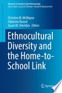 Ethnocultural Diversity And The Home To School Link