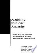 Avoiding Nuclear Anarchy