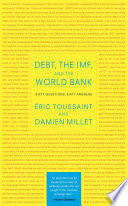 Debt The Imf And The World Bank
