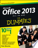 Office 2013 All In One For Dummies