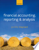 Financial Accounting  Reporting  and Analysis