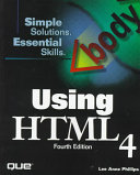 Using HTML 4