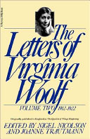 The Letters of Virginia Woolf  1912 1922