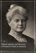 Official Register and Directory of Women's Clubs in America