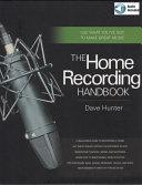 download ebook the home recording handbook pdf epub