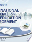 2014 International Conference on Advanced Education and Management  ICAEM2014