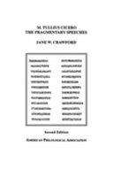 M  Tullius Cicero  the fragmentary speeches