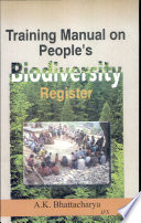 Training Manual On People S Bio Diversity Register