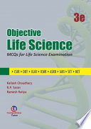 OBJECTIVE LIFE SCIENCE 3ED   MCQS FOR LIFE SCIENCE EXAMINATION  CSIR  DBT  ICAR  ICMR  ASRB  IARI  SET   NET